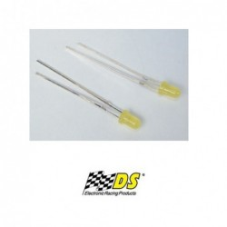 LED Amarelo Xenon 3mm -...