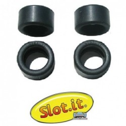 Rubber tires 20x11mm -...