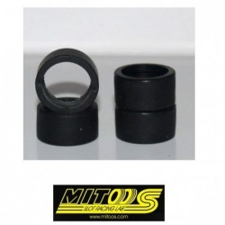 Rubber Tires 19x10mm - S3