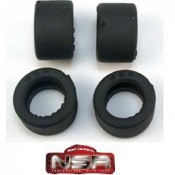 Rubber Tires 19.5x12mm -...