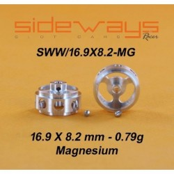 Magnesium Wheels 16.9x8.2mm...