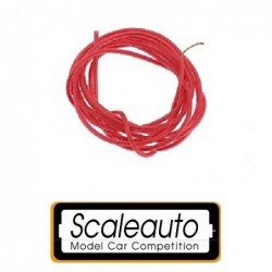 Cable 1mm - Silicon - red (1m)