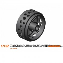 3DP Plastic Wheels 15.8x8mm...