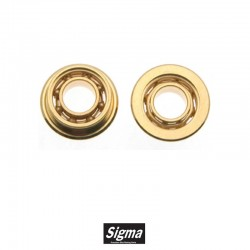 6mm Outer Diameter Gold...
