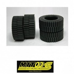 Tires Rubber TRAIL 25x10mm...