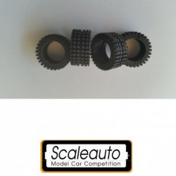 Rubber Tires 22x10mm - RAID