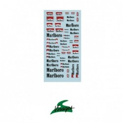 Virages Marlboro Decal - 1:43