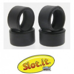 Rubber Tires 15.5x8mm -...