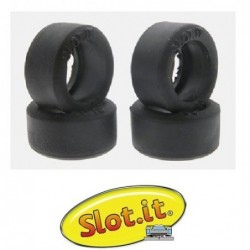 Rubber tires 20x9.5mm -...
