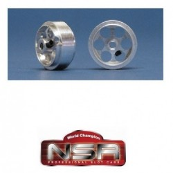 Aluminum Wheels 17 x 8mm -...