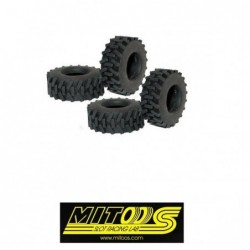 Rubber TRACTION Tires...