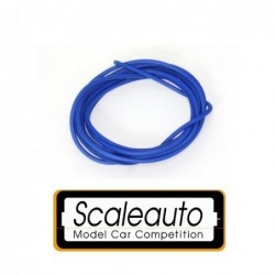 Cable 1mm - Silicone - blue...
