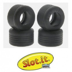 Rubber tires 20x12mm - F1 -...