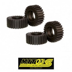 PRO TRACK Rubber Tires...