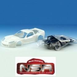 Carroçaria Corvette C6R em...