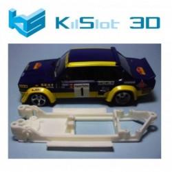 Fiat 131 Abarth 3D Inline...