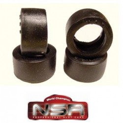 Rubber Tires 19x10mm -...